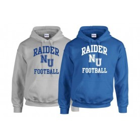 Newcastle Raiders - Raiders Football Logo Hoodie