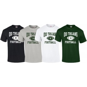 010 Trojans - Custom Ball Logo T Shirt 1