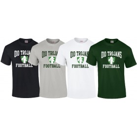 010 Trojans - Football Logo T Shirt