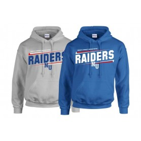 Newcastle Raiders - Slanted Text Logo Hoodie
