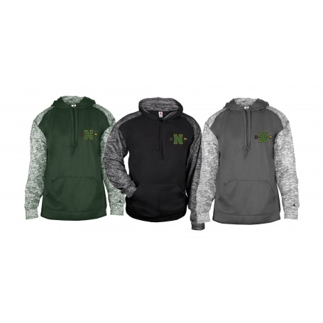 Nottingham Outlaws Alumni - Embroidered Sports Blend Hoodie