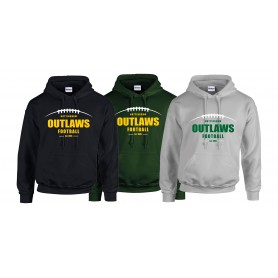 Nottingham Outlaws Alumni - Laces Logo Hoodie