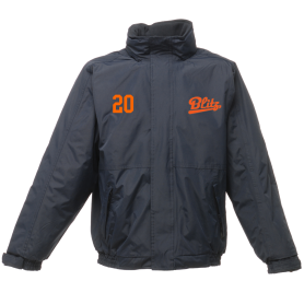 London Blitz Softball - Embroidered Heavyweight Dover Rain Jacket