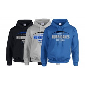 Cardiff Hurricanes - Laces Logo Hoodie