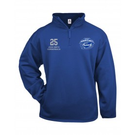 Cardiff Hurricanes - Custom Embroidered 1/4 Zip Poly Fleece Pullover