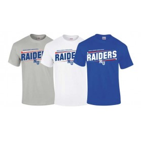 Newcastle Raiders - Slanted Text Logo T Shirt