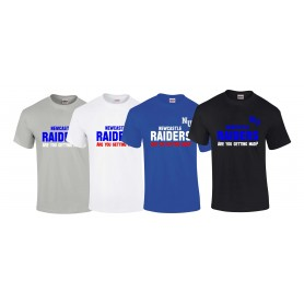 Newcastle Raiders - Getting Mad Logo T Shirt