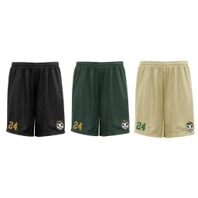 copy of Bury Saints - Embroidered Mesh Shorts