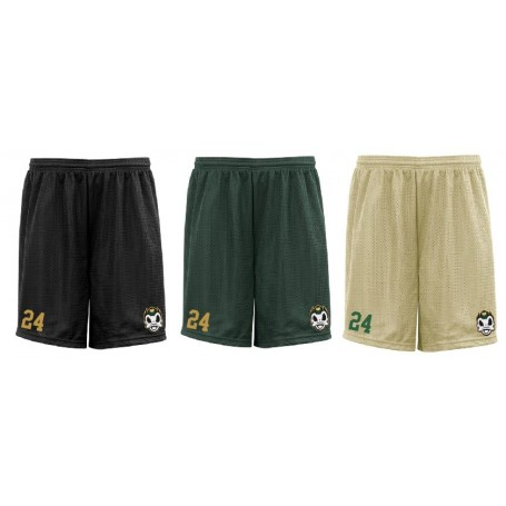 Solothurn Ducks - Embroidered Mesh Shorts