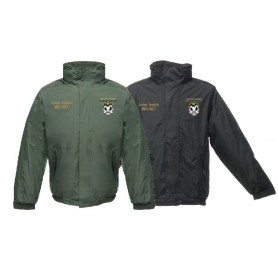Solothurn Ducks - Customised Embroidered Heavyweight Dover Rain Jacket