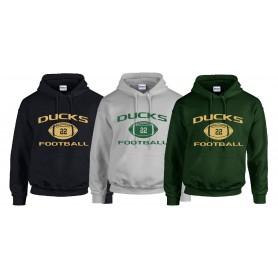 Solothurn Ducks - Custom Ball Logo 1 Hoodie