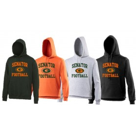 Gateshead Senators - Football Logo Hoodie