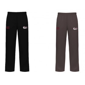 Bristol Barracuda - Embroidered Open Bottom Joggers