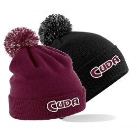 Bristol Barracuda - Embroidered Bobble Hat