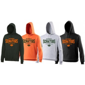 Gateshead Senators - Custom Ball Logo Hoodie 2