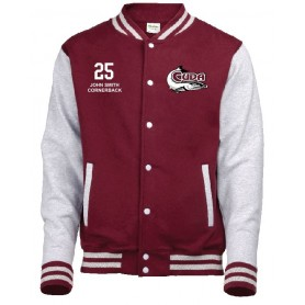 Bristol Barracuda - Customised Embroidered Varsity Jacket
