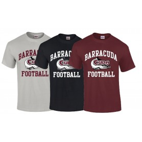 Bristol Barracuda - Football Logo T Shirt