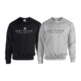 Kent Exiles - Players Text Logo Sweatshirt