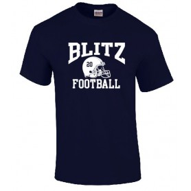 London Blitz - Custom Helmet Logo T Shirt