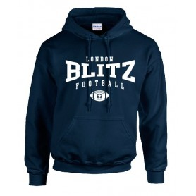 London Blitz - Custom Ball Logo 2 Hoodie