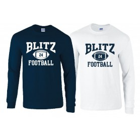 London Blitz - Custom Ball Logo 1 Longsleeve T Shirt