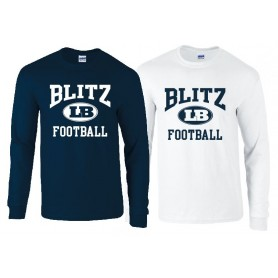 London Blitz - Football Logo Longsleeve T Shirt
