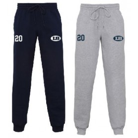 London Blitz - Embroidered Cuff Bottom Joggers