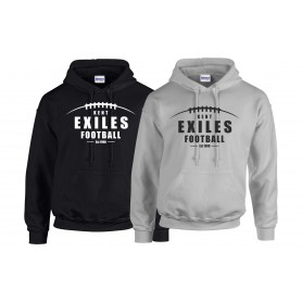Kent Exiles - Laces Logo Hoodie