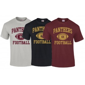 Pennine Panthers - Custom Ball Logo 1 T Shirt