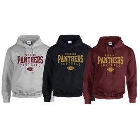 Pennine Panthers - Custom Ball Logo 2 Hoodie