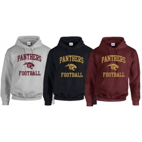 Pennine Panthers - Football Logo Hoodie