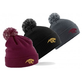 Pennine Panthers - Embroidered Bobble Hat