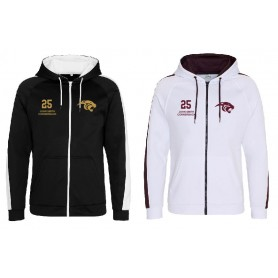 Pennine Panthers - Embroidered Sports Performance Zip Hoodie