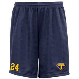 Teesside Steelers - Embroidered Mesh Shorts