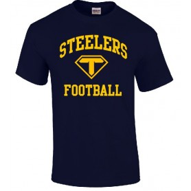 Teesside Steelers - Steelers Football Logo T Shirt