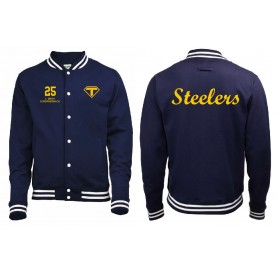 Teesside Steelers - Customised Embroidered Varsity Jacket