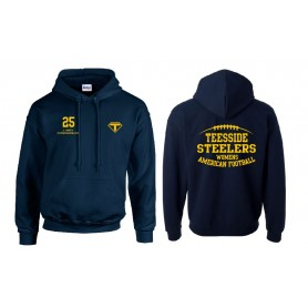 Teesside Steelers - Customised Embroidered Squad Hoodie