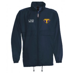 Teesside Steelers - Lightweight College Rain Jacket