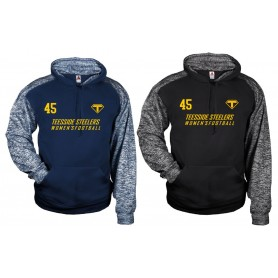 copy of Lincoln Colonials - Sports Blend Text Logo Hoodie