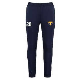 Teesside Steelers - Customised Embroidered Zipped Pocketed Slim Fit Track Bottoms