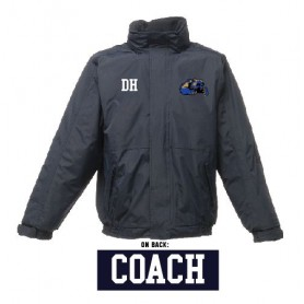 Heriot Watt Wolverines - Coaches Printed & Embroidered Heavyweight Dover Rain Jacket