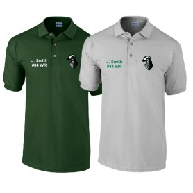 Worcestershire Black Knights - Custom Embroidered Polo Shirt