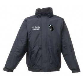 Worcestershire Black Knights - Embroidered Heavyweight Dover Rain Jacket