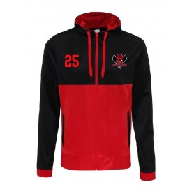Cork City Outlaws - Embroidered Retro Track Zip Hoodie
