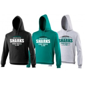 Chichester Sharks - Laces Logo Hoodie