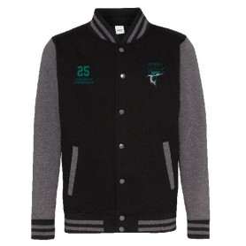Chichester Sharks - Embroidered Varsity Jacket