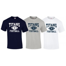 Northants Titans - Customised Ball Logo 1 T Shirt