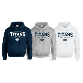 Northants Titans - Custom Ball Logo 2 Hoodie