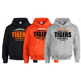 Thames Valley Tigers - Laces Logo Hoodie