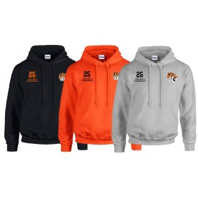 Thames Valley Tigers - Custom Embroidered Hoodie